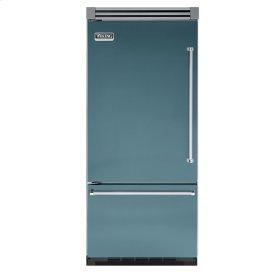 """Iridescent Blue 36"""" Bottom-Mount Refrigerator/Freezer - VIBB (Left Hinge Door)"""