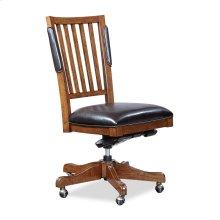 Chair- w/o Arm, PU Seat