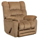 Contemporary Temptation Fawn Microfiber Rocker Recliner Product Image