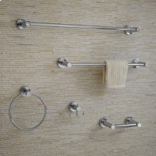 CR Series Towel Ring - Polished Chrome