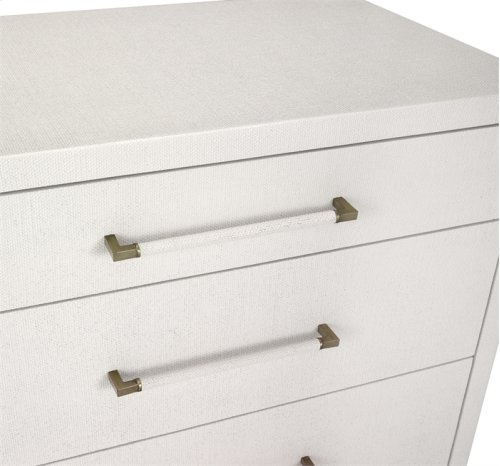 Taylor 8 Drawer Chest - White