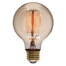 G80 15 Anchors 40w E Light Bulb  Gold