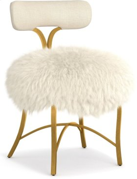 Swanson Upholstered Metal Side Chair