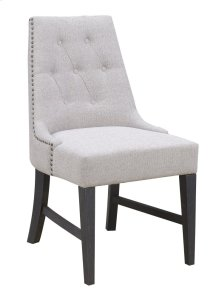 Emerald Home Wallingford Upholstered Dining Chair Dark Walnut, Antique Black D750-22