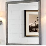 "FAIRMONT DESIGNSRustic Chic 28"" Mirror - Silvered Oak"