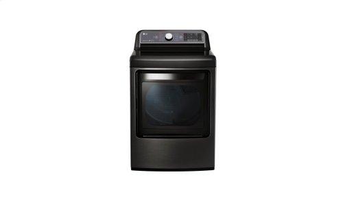 7.3 cu. ft. Ultra Large Capacity TurboSteam Gas Dryer with EasyLoad Door