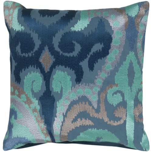 "Ara AR-075 18"" x 18"" Pillow Shell with Down Insert"
