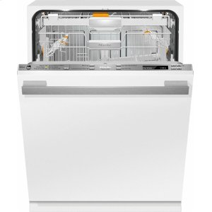 MieleG 6875 SCVi AM Fully-integrated, full-size dishwasher with hidden control panel, 3D+ cutlery tray, custom panel and handle ready