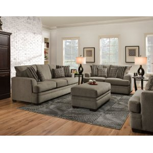 American Furniture Manufacturing3650 - Cornell Pewter Sofa