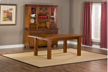 Outback Extension Table With Runner - Ctn B - Base Only - Distressed Chestnut