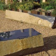 Monolithic Basalt Bench