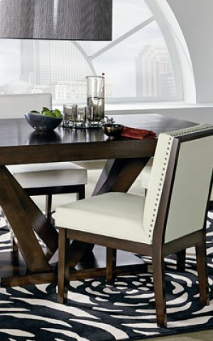 Uph White Ct Ht Chair