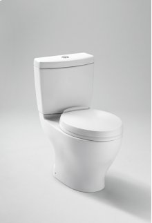 Colonial White Aquia® Dual Flush Toilet, 1.6GPF & 0.9GPF
