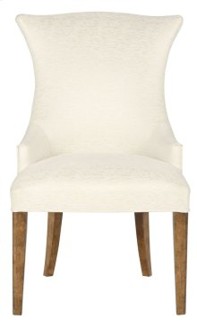 Soho Luxe Upholstered Arm Chair in Dark Caramel (368)