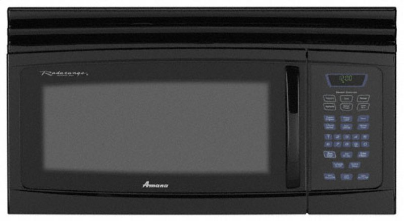 Amana 1 6 Cu Ft Over The Range Microwave Hidden