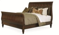 Westbourne Sleigh Bed King Size 6/6 Product Image