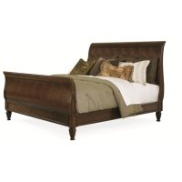 Chelsea Club Westbourne Sleigh Bed King Size 6/6 Product Image