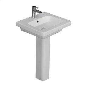 Resort 500 Pedestal Lavatory - White