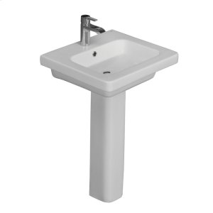 Resort 500 Pedestal Lavatory - White Product Image