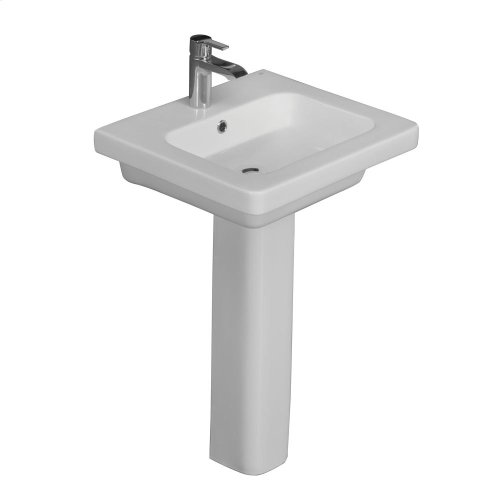 Resort 650 Pedestal Lavatory - White