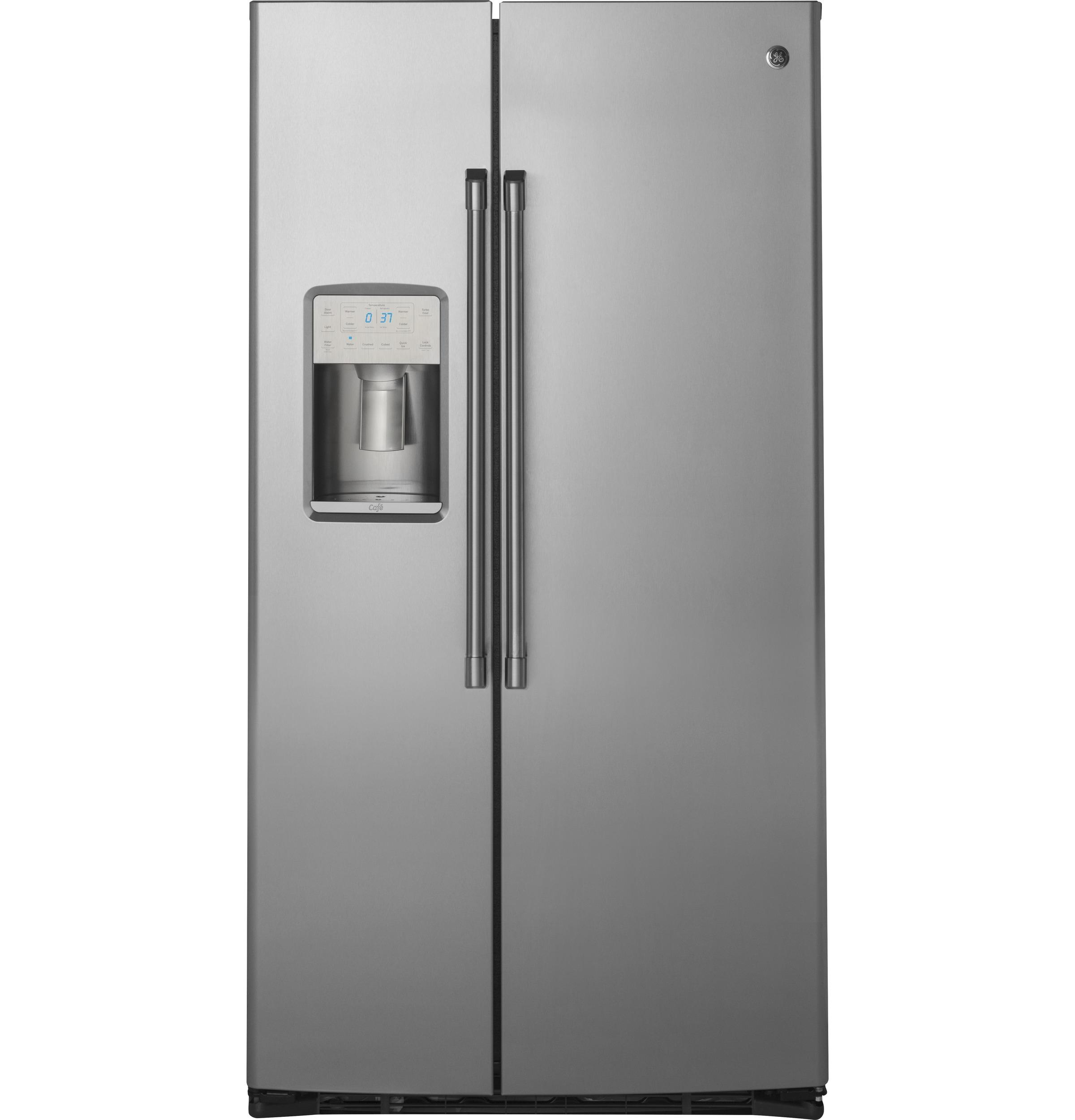 GE CafeSeries 21.9 Cu. Ft. Counter-Depth Side-By-Side Refrigerator