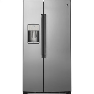 GE Cafe21.9 Cu. Ft. Counter-Depth Side-By-Side Refrigerator