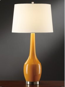 Nina Orange Table Lamp