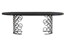 Valentina Black Dining Table Product Image