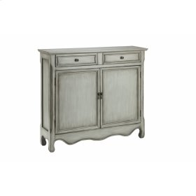 Claridon 2-door 2-drawer Cabinet In Grey
