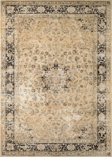 Persian Vase - Oatmeal-Black 0428/0402