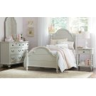 Inspirations by Wendy Bellissimo - Morning Mist Westport Low Poster Bed T 3/3 Product Image