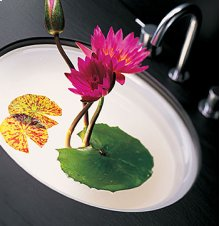 Standard Oval Sink without Overflow