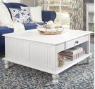 Square Coffee Table Beach White Product Image