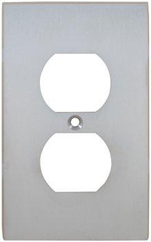 Duplex Receptacle Modern Switchplate