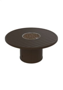 "Banchetto 54"" Round Fire Pit, Built-In Ignitor"