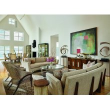 Lake Shore Drive Living Room and Dining Room