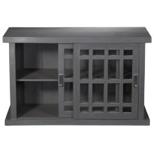Adesso Small Storage Cabinet - Grey Wash