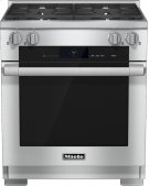 HR 1924 G 30 inch range Dual Fuel with M Touch controls, Moisture Plus and M Pro dual stacked burners Product Image