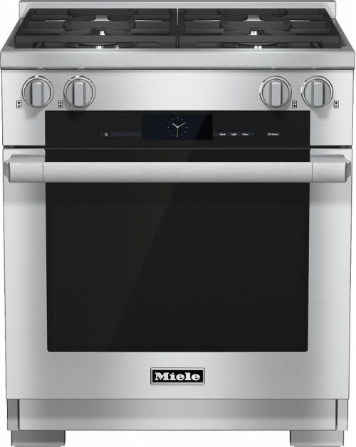 HR 1924 LP 30 inch range Dual Fuel with M Touch controls, Moisture Plus and M Pro dual stacked burners