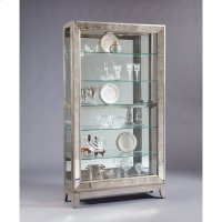 Platinum Antique Mirrored Curio Product Image