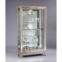 Platinum Antique Mirrored Curio Product Image