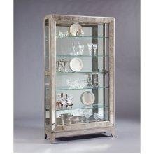HOT BUY CLEARANCE!!! Platinum Antique Mirrored Curio
