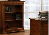 "Phillipe 55"" High Bookshelf w/2 Adjustable Shelves No Doors Product Image"