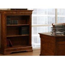 "Phillipe 55"" High Bookshelf w/2 Adjustable Shelves No Doors"