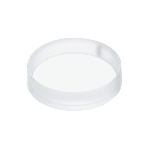 Luminist Lighted Round Vessel Lavatory - Angelic White
