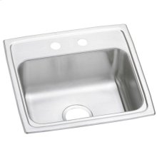 "Elkay Celebrity Stainless Steel 19"" x 18"" x 7-1/8"", Single Bowl Drop-in Sink"