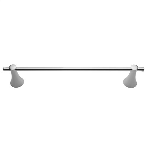 "Polished Nickel - 24"" Cranford Towel Bar"