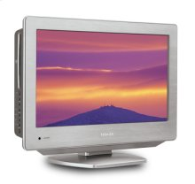 "18.5"" Diagonal Stainless Style™ LCD HDTV/DVD Combo"