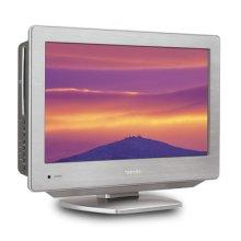 "18.5"" Diagonal Stainless Style™ LCD HDTV/DVD Combo"