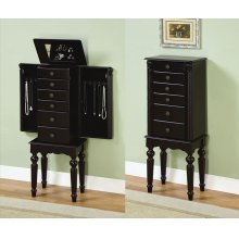 Ebony Jewelry Armoire